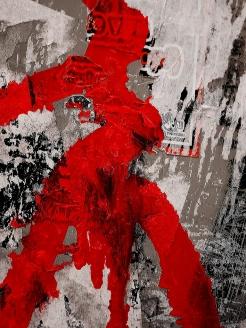 makroplakk - lady in red